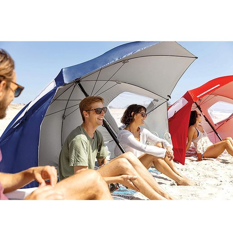 Зонт женский, зонт от солнца, пляжный зонт с подставкой, большой садовый зонт, зонт для рыбалки