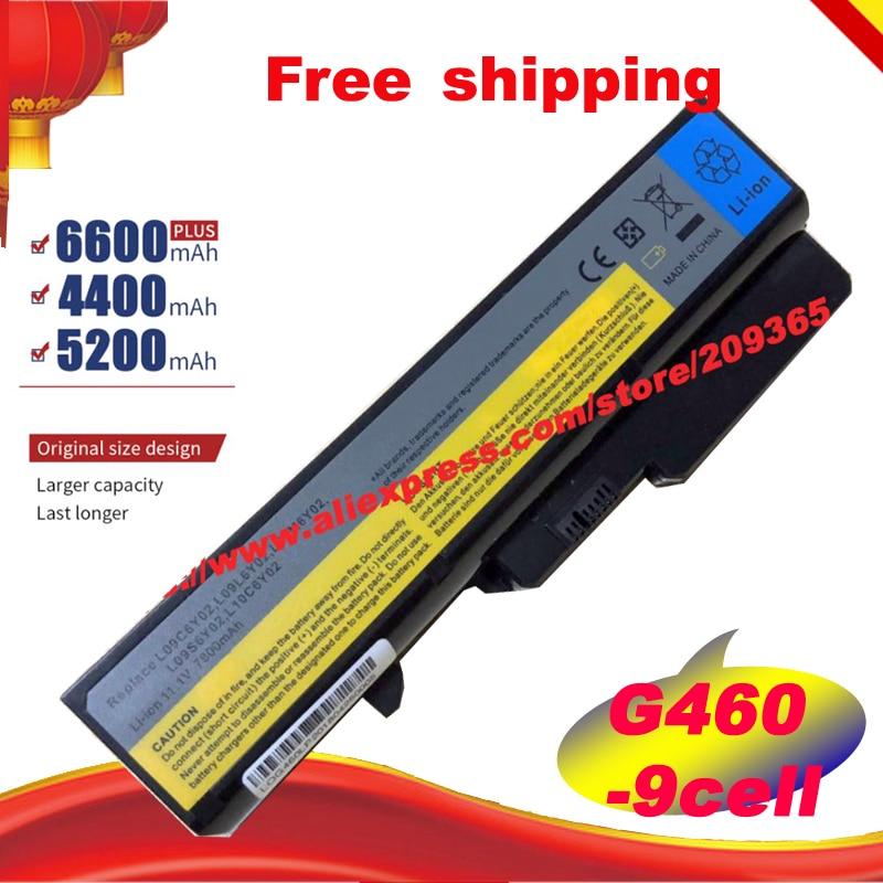Batería del ordenador portátil para Lenovo IdeaPad G565 B470 B457 K47 V470 b570 G460 G470 G770 G780 V370 Z370 Z460 G560 57Y6454 57Y6455