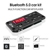 Kebidu DC 5 в 12 В MP3 декодер плата Bluetooth автомобильный комплект USB MP3 плеер Поддержка WMA WAV TF слот для карты/USB/FM с цветным экраном