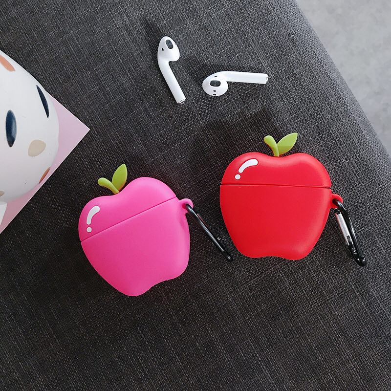 cute case for apple airpods case pink cartoon bluetooth earphone case for airpods 1 2 charging bags headphone soft case hooks For Airpods Case,Cute Apple Case For Airpods 1/2 Case,Soft TPU Protective Earphone Headphone Cover For AIrpods Pro Case