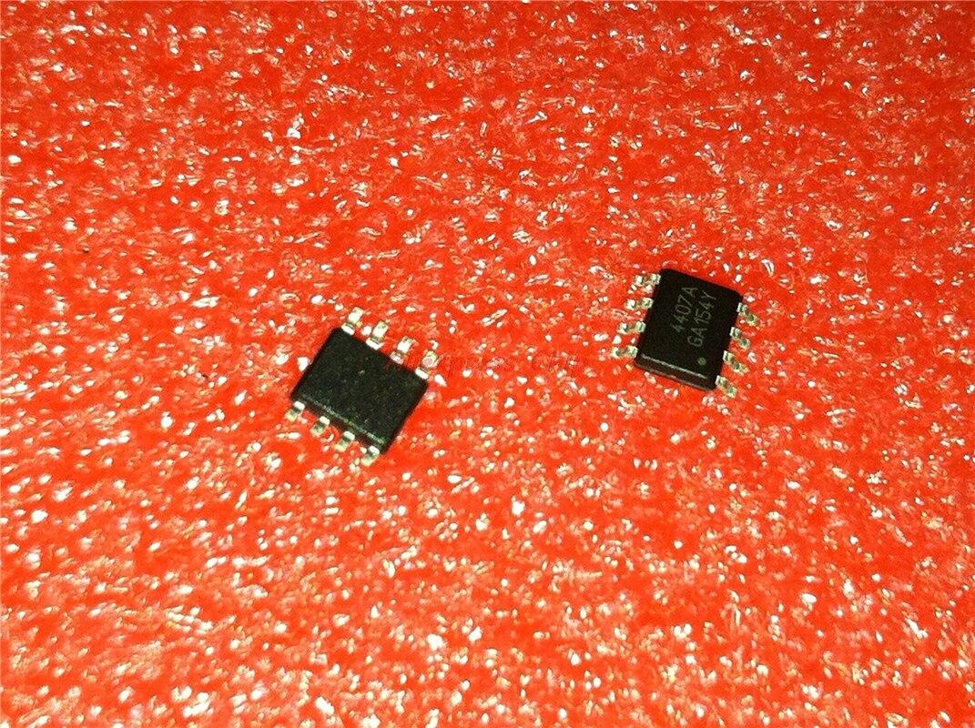 100 SOP-8 pçs/lote AO4407A 4407A AO4407 4407 MOSFET original autêntico transporte livre Em Estoque