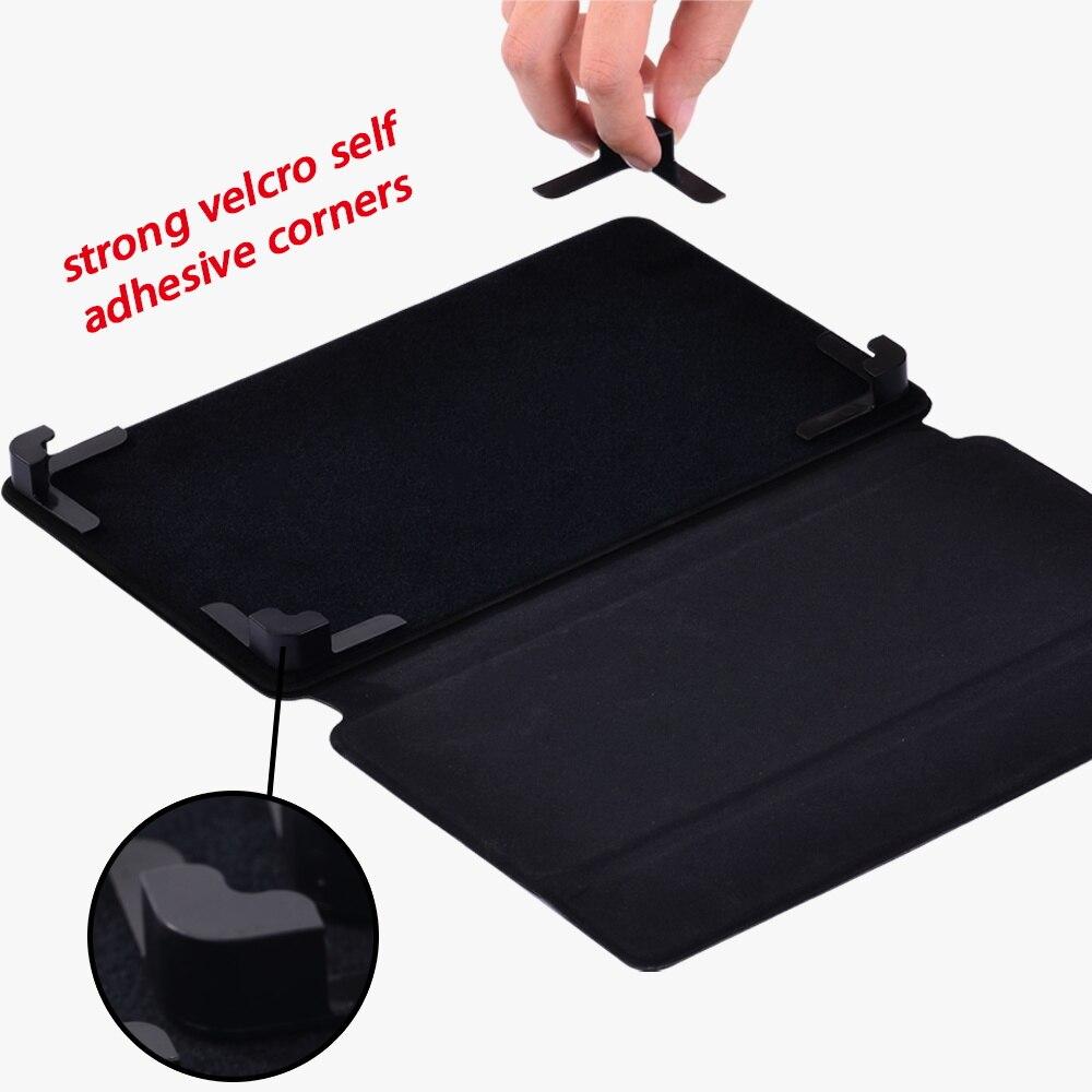 PU Leather Anti-fall Tablet Case for Lenovo Tab E7 /Tab E8 /Tab E10 Universal Blackmarble Pattern Series Protection Case+Stylus enlarge