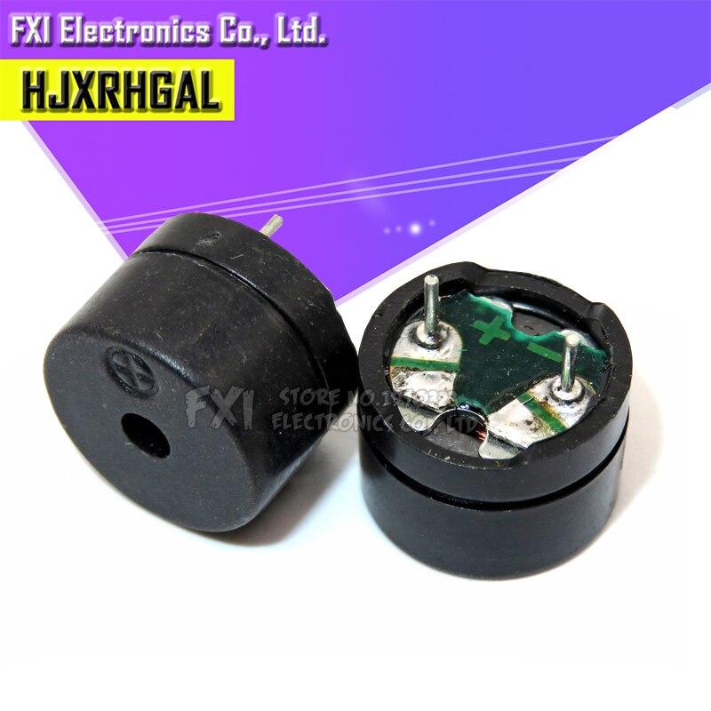 Zumbador pasivo Universal 100 Uds CA/2KHz 3V 5V 12V Impedancia electromagnética Universal 16 Ohmios