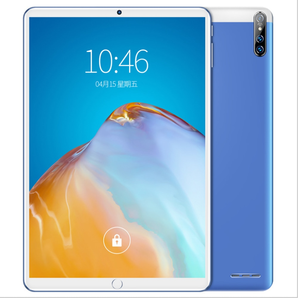 8GB +128GB 10.1 Inch Tablet Android 9.1 WIFI 5G Network SIM Phone Call Bluetooth 10 Core 2560*1600 IPS Display Smart Tablets PC enlarge