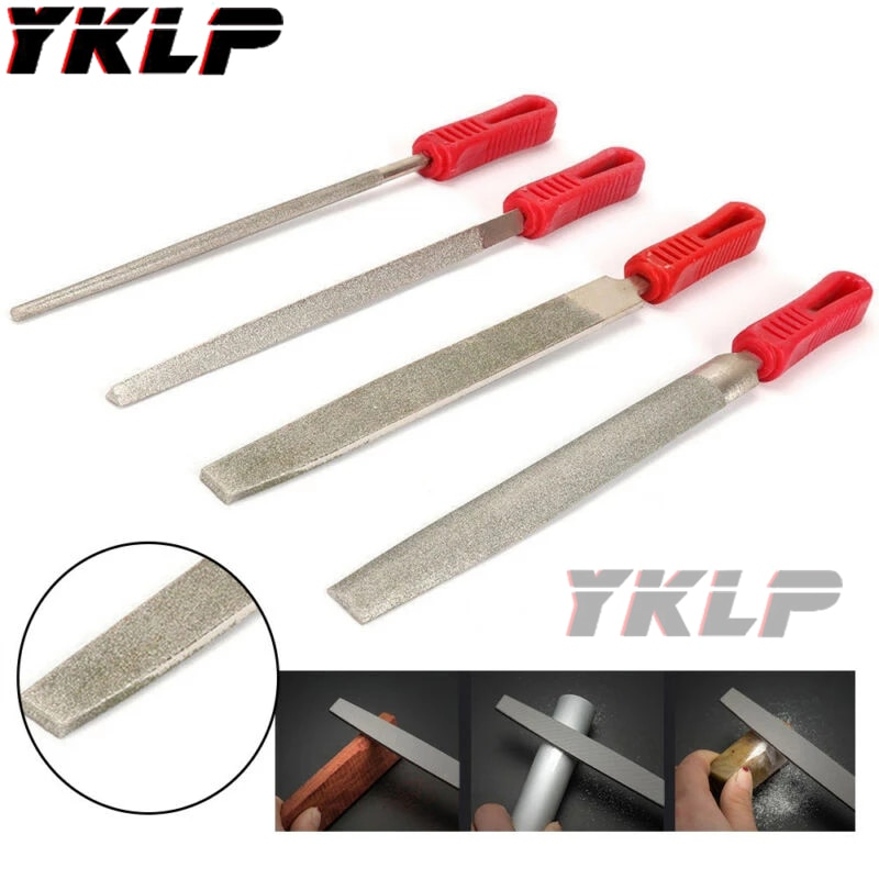10 gold round coated cakeboard 12 ct 8Inch  Diamond Coated Triangle Flat Half Round File Medium Smooth Hand Tool 120 Grit
