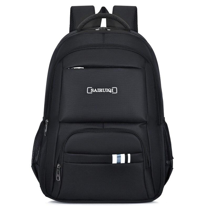 سعة كبيرة الرجال حقائب الظهر حقيبة مدرسية للبنين في سن المراهقة الأسود أكسفورد مقاوم للماء الظهر حزمة الذكور حقيبة الظهر 2021 جديد