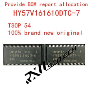 100% new memory granule HY57V161610DTC-7 tsop50 2 Banks x 512K x 16 Bit DRAM routing upgrade memory provides BOM allocation
