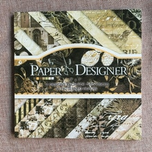 Bloc de papier Scrapbook mixte 7