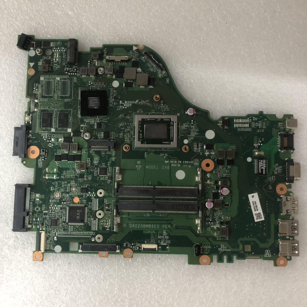 E5-523G DA0ZABMB6E0 لشركة أيسر أسباير محمول Motherboatd NBGEQ11007 ملحوظة. GEQ11.007 كوم R5 A12-9700P DDR4 Testado موافق