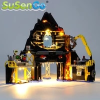 susengo led light kit for 70631 garmadons volcano lair compatible with 06072 31102 10798