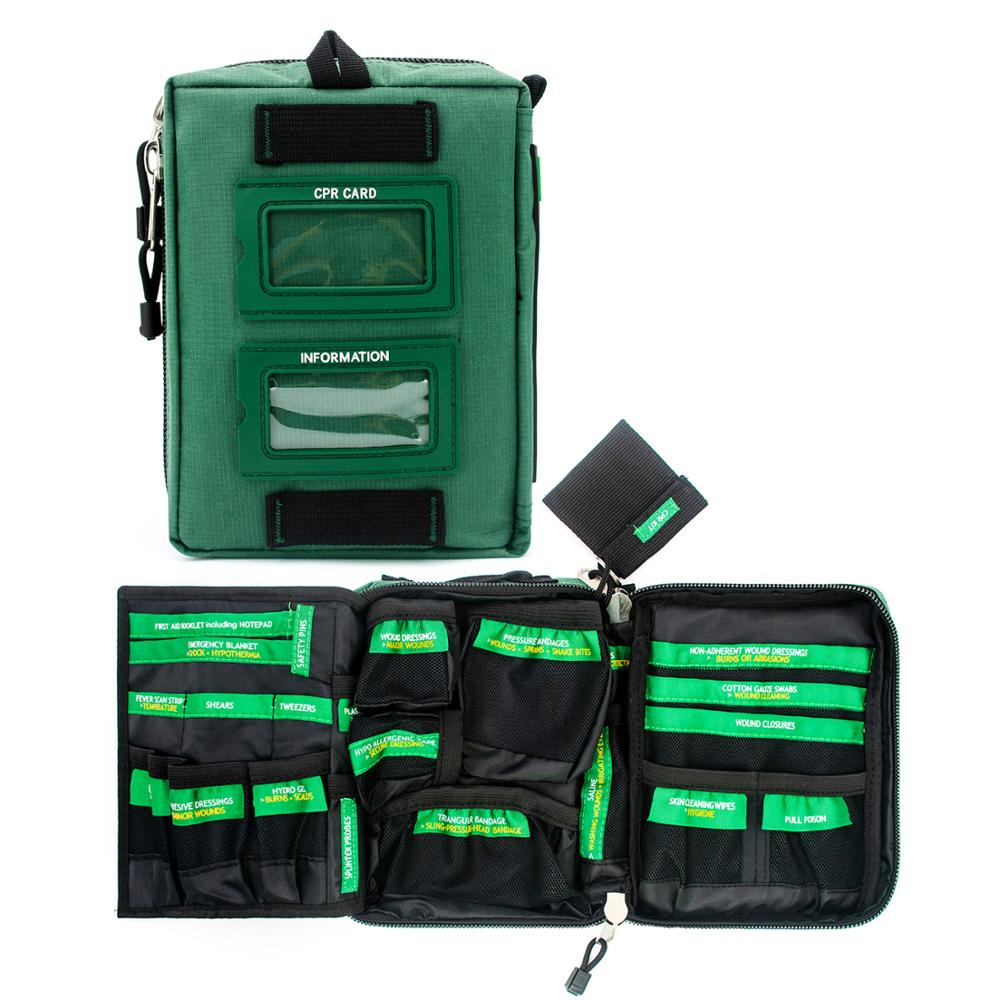 BearHoHo-مجموعة أدوات الإسعافات الأولية خفيفة الوزن ، حقيبة الإنقاذ الطبية في حالات الطوارئ ، حقيبة السيارة ، في الهواء الطلق ، التنزه ، المدرسة ...