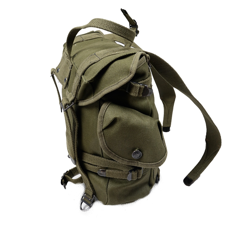 US Army M1945 Backpack WW2 Korean War Tactical Bag Retro Military Storage Pack Army Green Tactical Equipment Upper