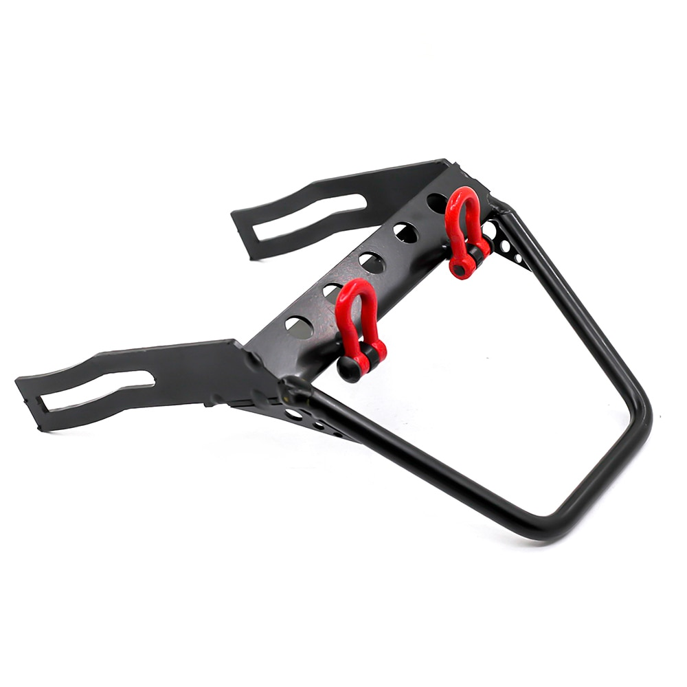 Metal Stinger Front Bumper Bull Bar Winch Mount Shackle For 1/10 RC Rock Crawler Car Axial SCX10 90046 90047 D90 D110 enlarge