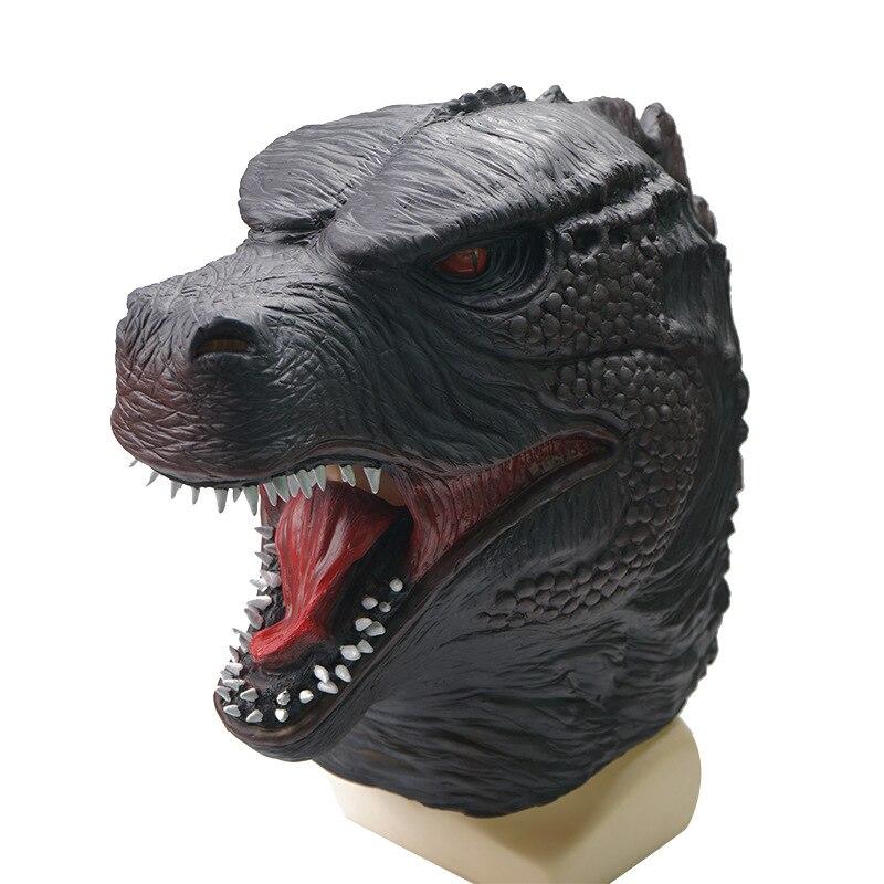 Película dinosaurio cosplay disfraz de halloween para adulto carnaval horror monstruo máscara de látex animal ATERRADOR