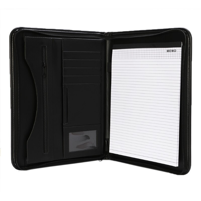 A4 Folder Conference File Document Organizer Manager Layout Clip Business Bag K3KB