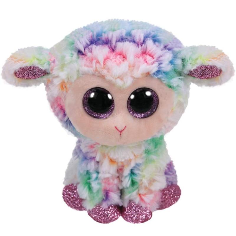 Ty Daffodil the Lamb / Sheep Plush Animal Toys Stuffed Doll Gift 15cm