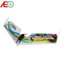 Livraison gratuite Promotion des ventes EPP avion modèle arc-en-ciel mouche aile 800mm envergure ZAGI RC avion EPP avion correspondant aile Delta
