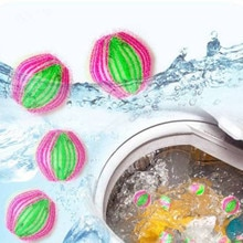 NEW 6PC Magic Hair Catcher Filter Remover Laundry Clean Ball Clothes Fluff Collector Practical  Magi