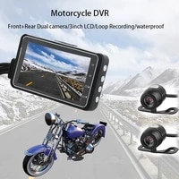motorcycle camera dvr motor dash cam special dual track front and rear video recorder night vision g sensor motorcycle black box
