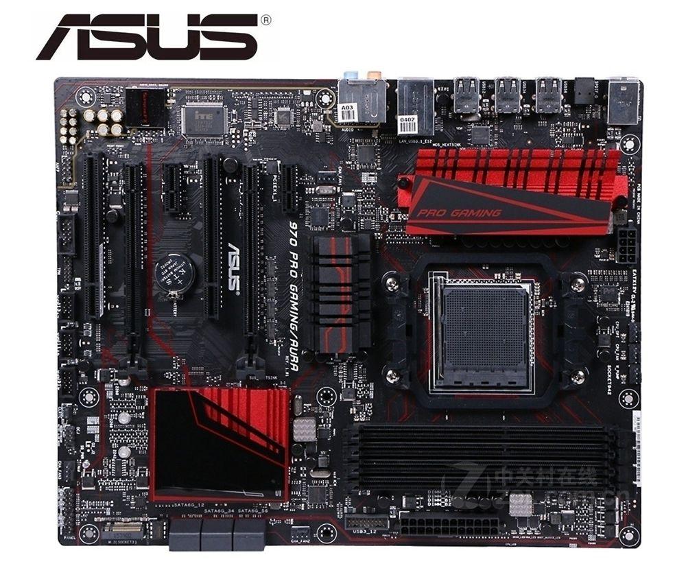 ASUS 970 PRO GAMING/AURA original placa madre DDR3 hembra AM3 + USB2.0 USB3.0 32GB placa base de escritorio