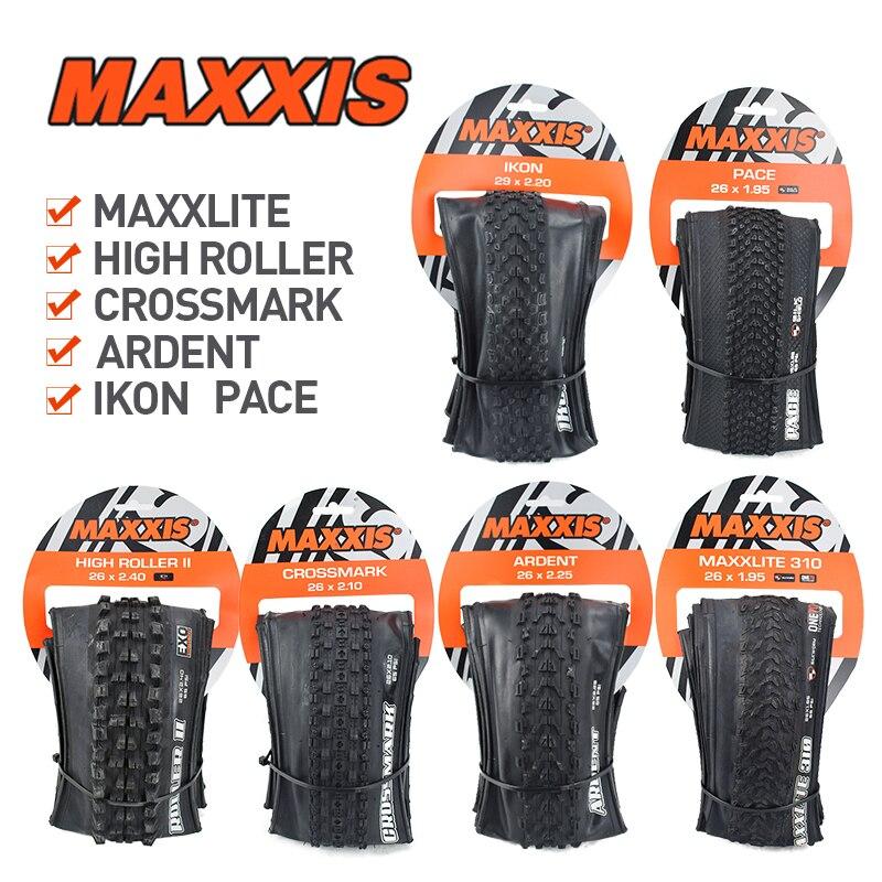 Maxxis 26 ardent/crossmark/ikon/pace mtb pneus 26*1.95/2.2/2.25/2.4 27.5*1.95/2.1/2.2/2.4 29*2.2 pneu dobrável mountain bike pneu