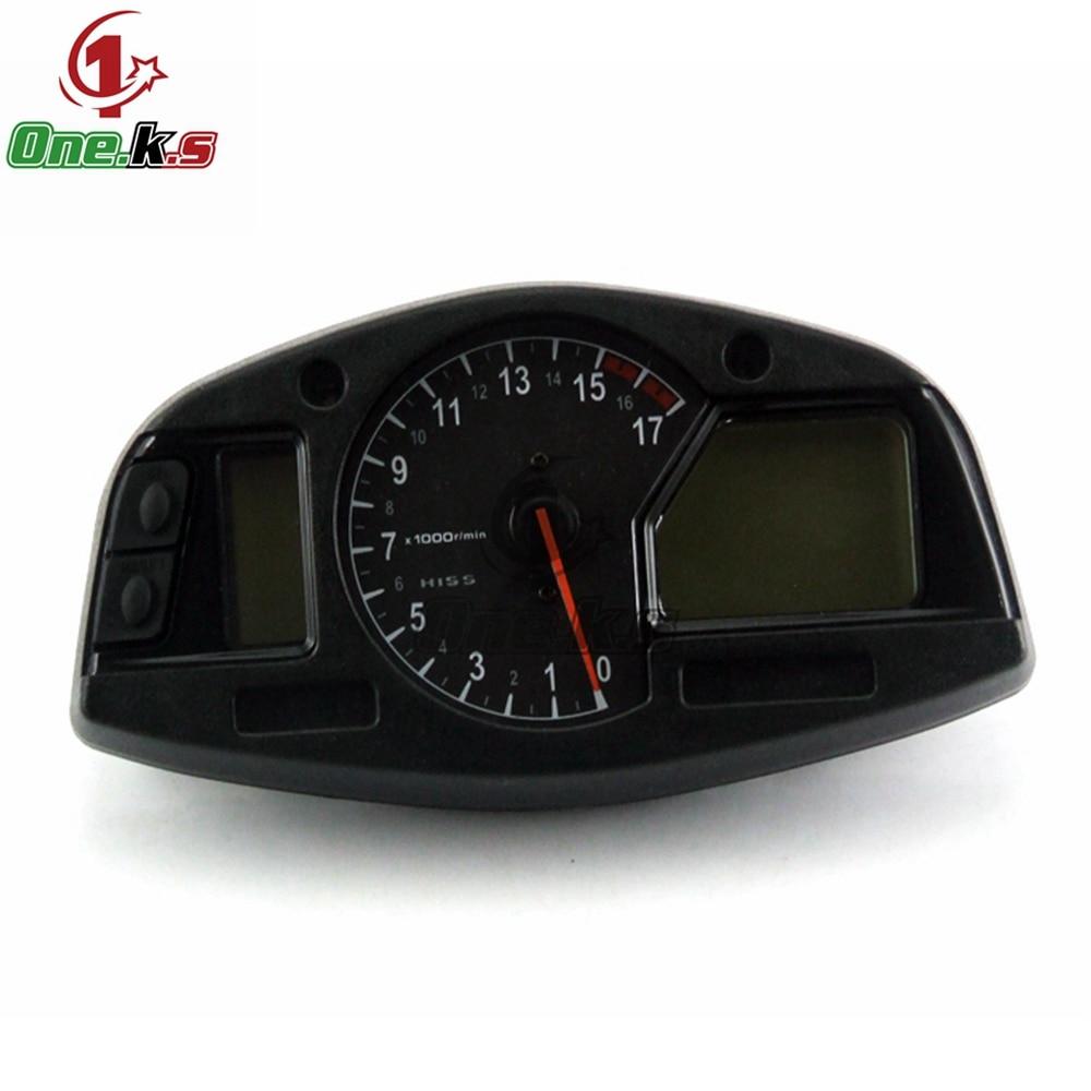 عداد سرعة الدراجة النارية, عداد المسافات ، عداد السرعة ، مجموعة أدوات لهوندا F5 CBR600RR 2007 2008 2009 2010 2011 2012