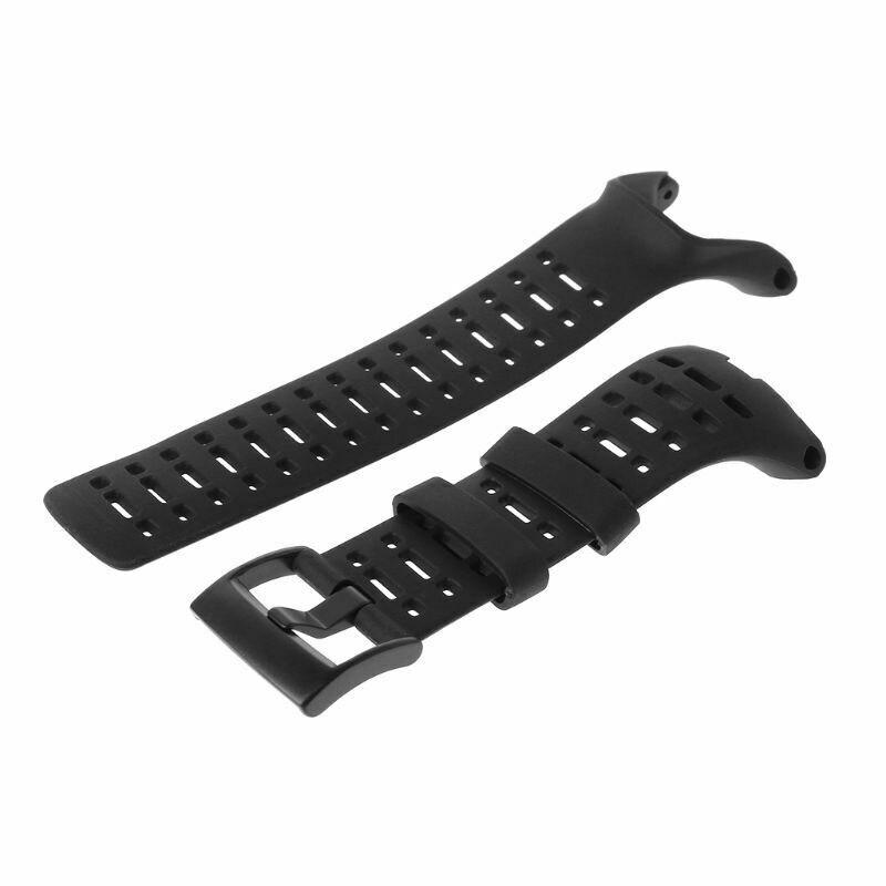 ZL-Correa de goma Flexible para reloj de pulsera, repuesto de correa para...