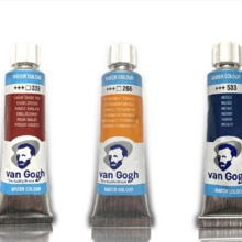 Imported Dutch Royal Van Gogh Watercolor Paint 10ml Acuarela For Painting Aquarel Aquarelle Art Supp