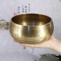 handmade nepal buddha sound bowl brass buddhist yoga singing bowl meditation chanting bowl nepal singing bowl