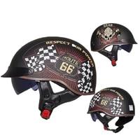 gxt open face visor helmet retro motorcycle helmet moto helmet mens retro helmet vintage half face biker motorbike scooter dot