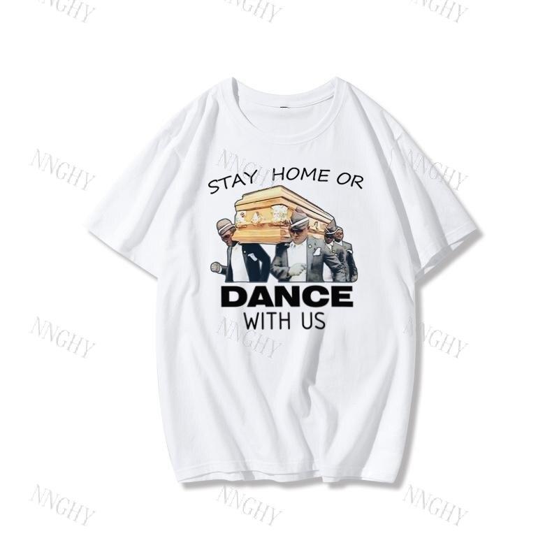 Camiseta de los hombres del ataúd danza Meme Bailar portadores Abby ilustraciones...