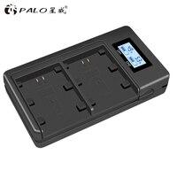 Palo NP-FZ100 NP FZ100 LCD Dual USB Battery Charger for Sony NP-FZ100 BC-QZ1 Alpha 9 A9 Alpha 9R Sony A9R Sony Alpha 9S