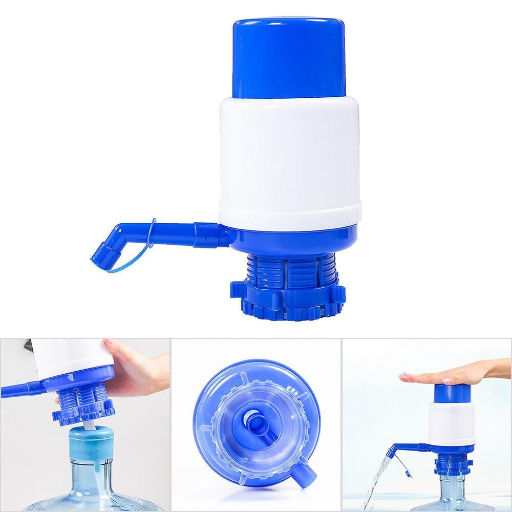 Bomba de água portátil dispensador galão garrafa potável imprensa mão removível tubo inovador manual bomba dispenser ferramentas para escritório