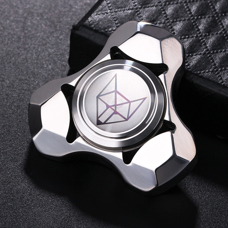 Edc Spirit Fox Hand Spinner EDC Fidget Hand Spinners Autism ADHD Finger Toy Hobbies for Adults Spinners Focus Relieve Stress E enlarge