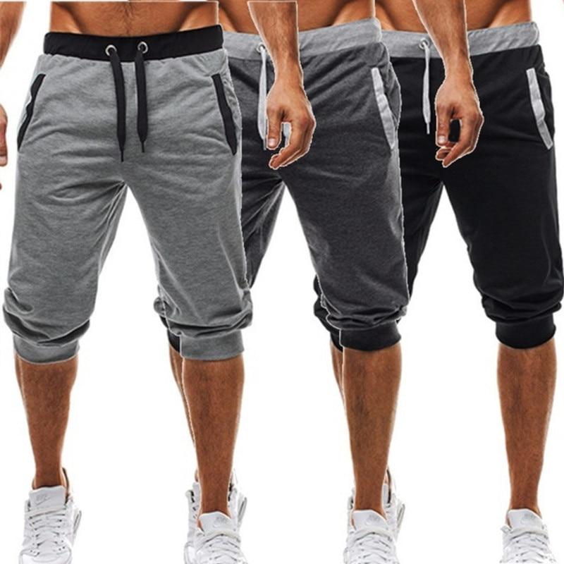 Pantalones cortos deportivos para correr de verano para hombre, pantalones cortos deportivos para Jogging, traje de baño, pantalones cortos de entrenamiento para hombre