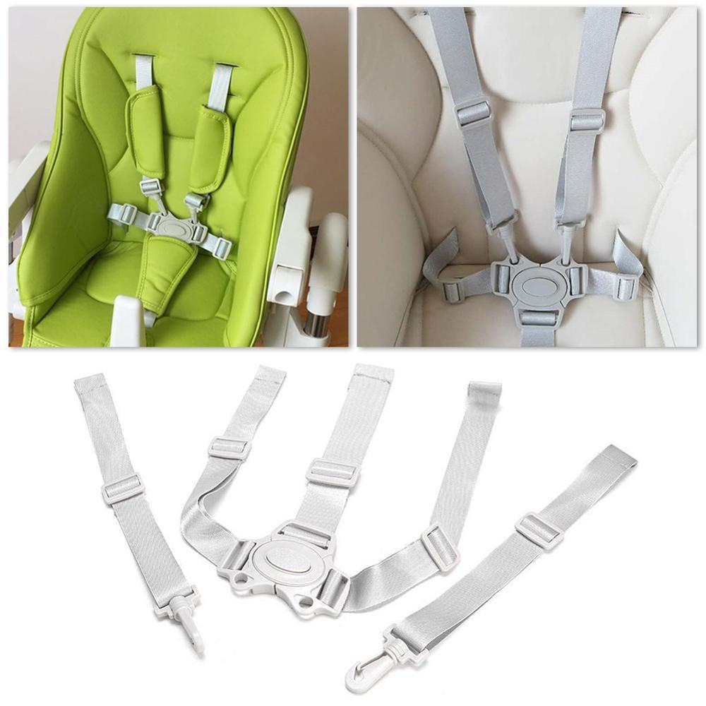 Baby Universal 5 Point Harness High Chair Safe Belt Seat Belts For Stroller Pram Buggy Children Kid