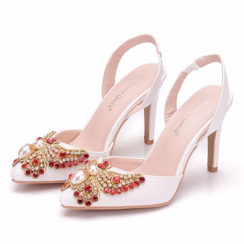 Женские свадебные туфли на платформе лодочки высоком каблуке 10 см с открытым