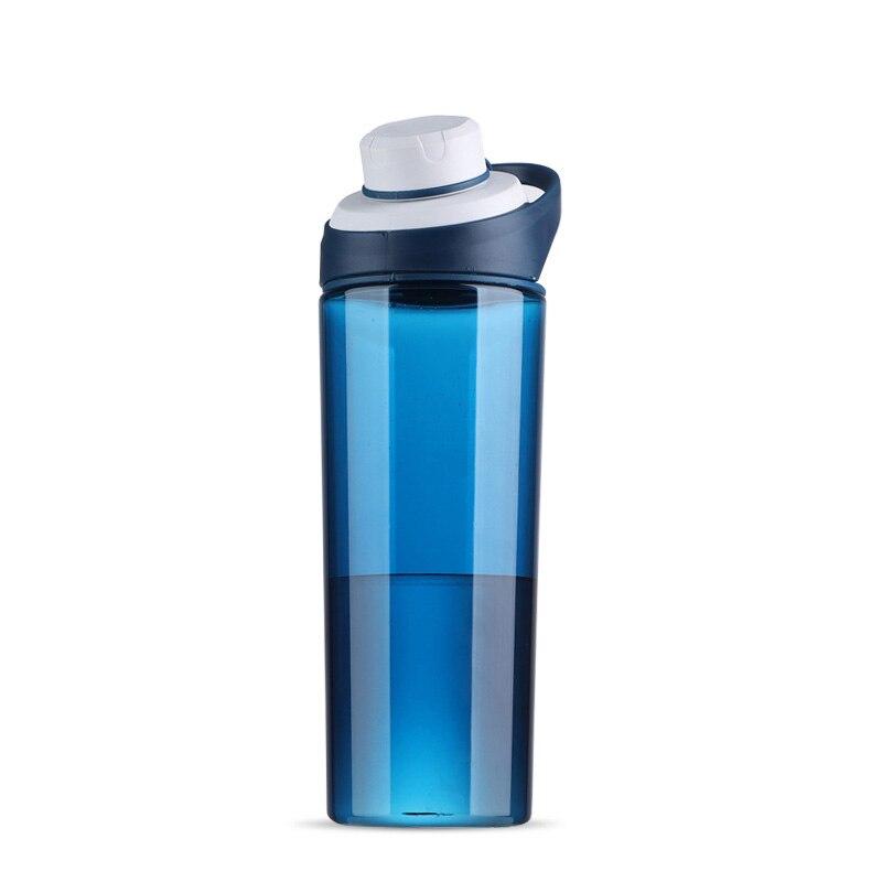 Taza de plástico deportiva para hombre, taza de gimnasio de gran capacidad, taza de agua al aire libre, mango femenino a prueba de fugas, fútbol de otoño Longkou basketballwater