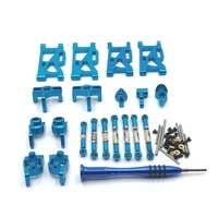 for wltoys 144001 124016 124017 124018 124019 remote control car parts metal modification upgrade parts