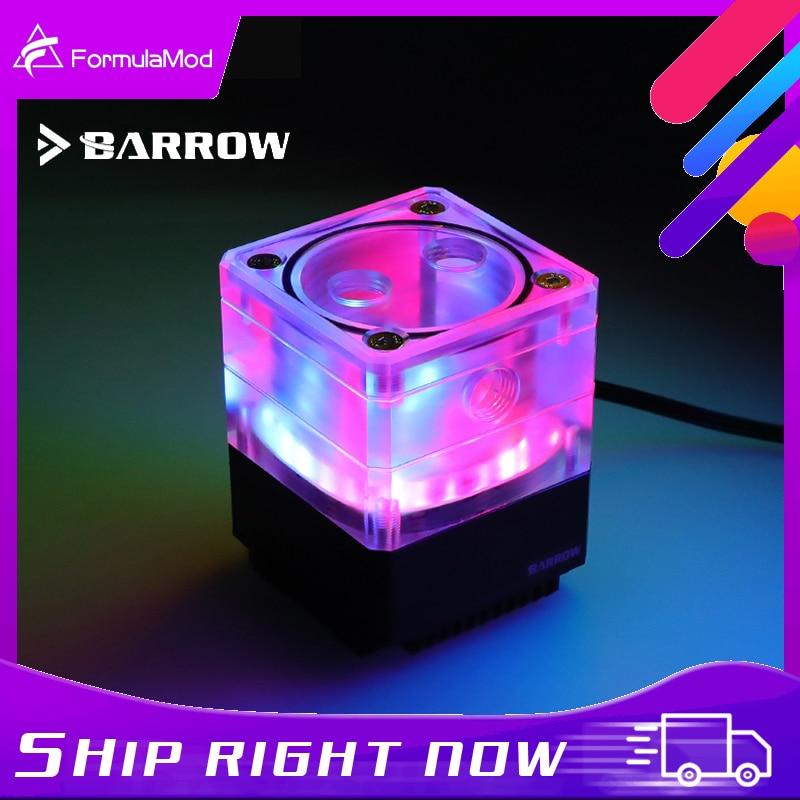 بارو PWM مضخة التحكم سرعة مع مصغرة خزان ، المتكاملة عدة ل 17W مضخة ، LRC 2.0 ARGB ، SPB17-TM