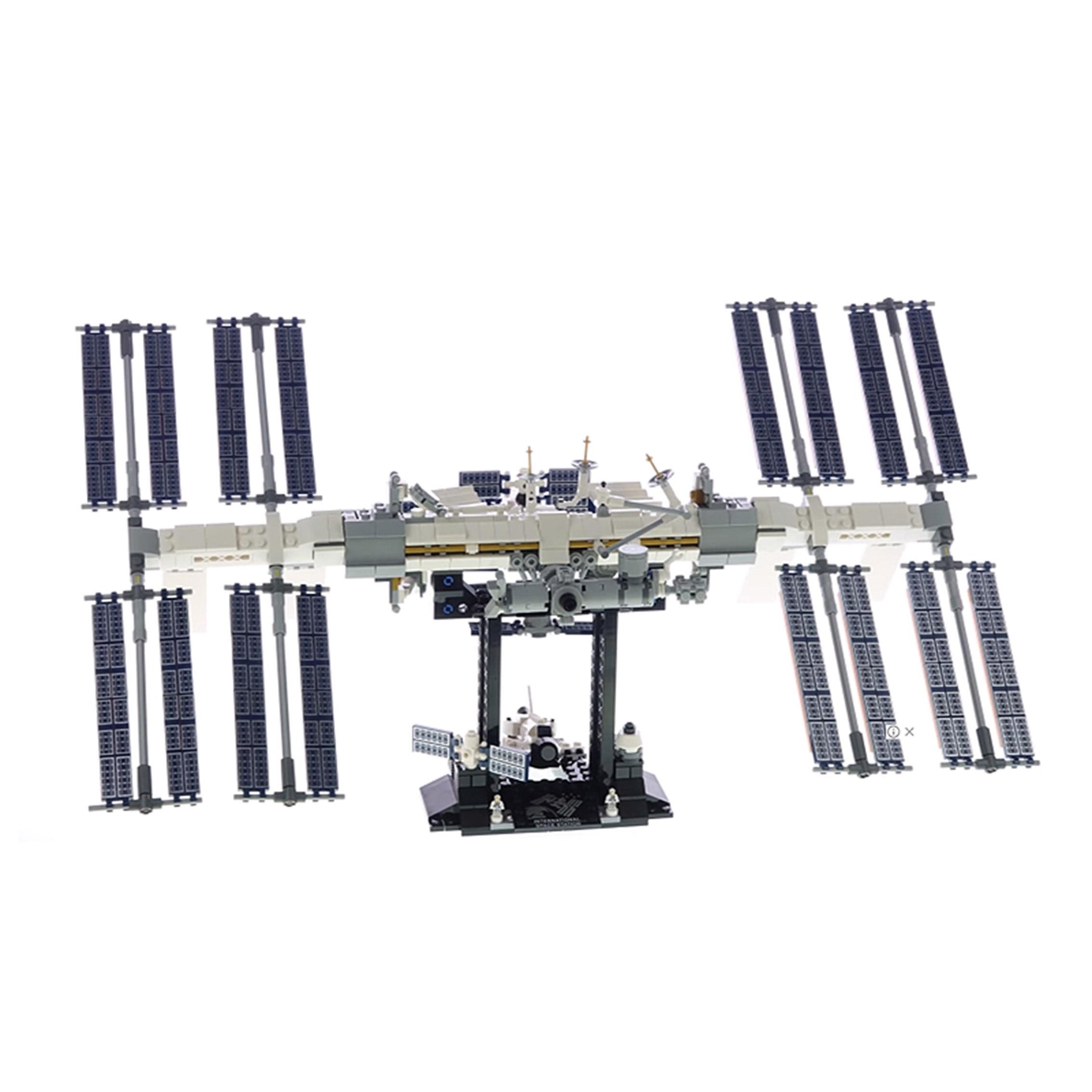2020 nova lepinblocks 876 pçs estação espacial internacional ideia compatível 21321 tijolos de construção brinquedos educativos presentes aniversário