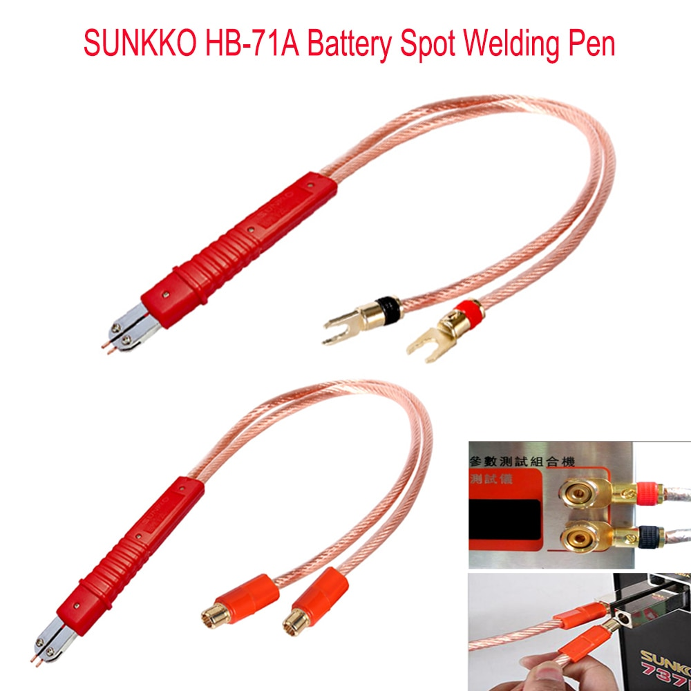 HB-71A Battery spot welding pen use for lithium battery welding 18650 Lithium Battery Production DIY Pulse Welding Pen handle pulse production technology