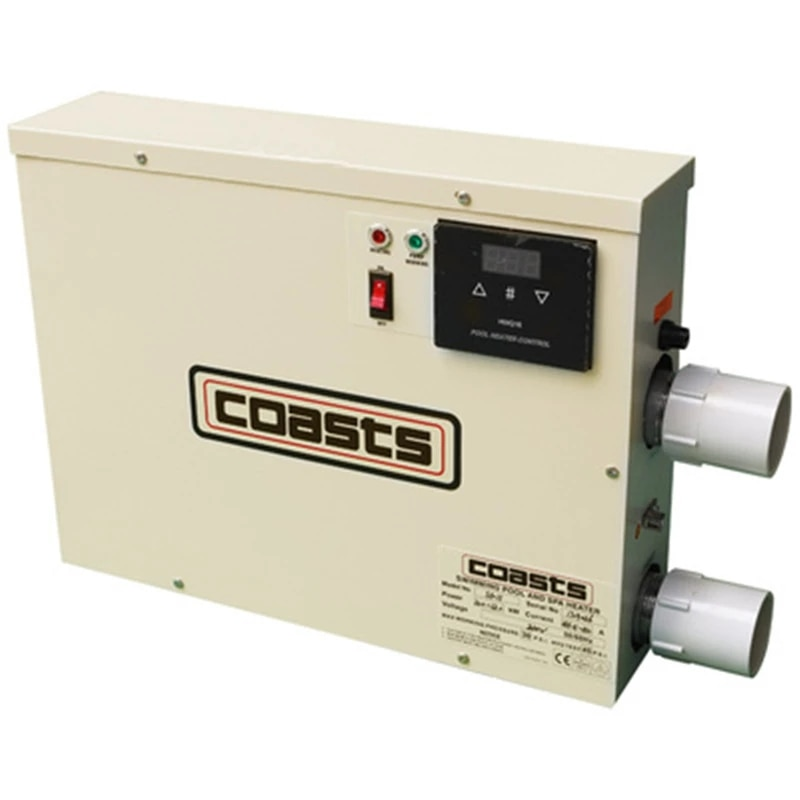 سخان مياه 5.5KW لحمام السباحة وأنبوب الحمام ترموستات 220 فولت/380 فولت العلامة التجارية الجديدة