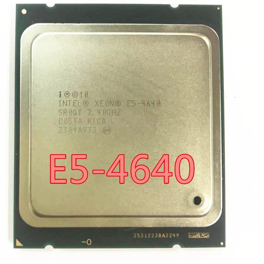 E5 4640 oito núcleos, dezesseis fios E5-4640 2.4 ghz 95 w