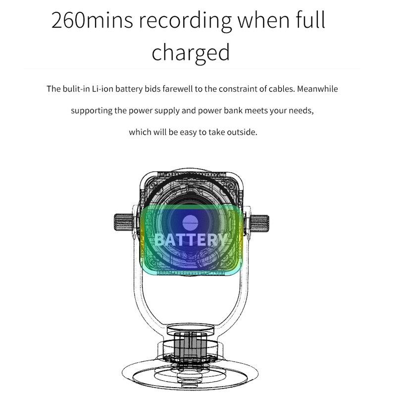 Mini Camera Security Protection Compact Wireless WiFi Surveillance Camera 12x Zoom Lens Micro Camera Mini Secret Camera IPCamera enlarge