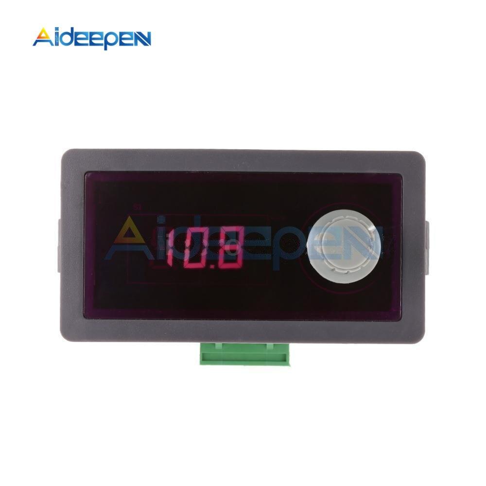 Generador de señal 4-20mA 24V DC 12V PWM frecuencia pulso función generador corriente constante ajustable Anti reverso para LED luz