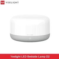 Yeelight     lampe de chevet a LED D2 RGBW Dim  lampe de bureau intelligente  fonctionne avec Mijia  Apple Homekit  Alexa  Google Assistant pour maison intelligente