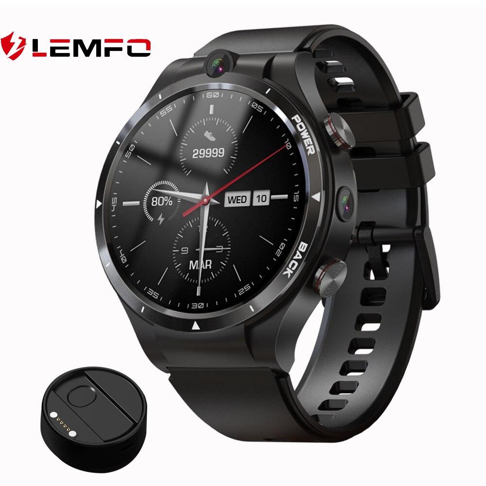 LEMFO LEM15 Smart Watch 4G Android 10.7 128GB ROM 900mAh Big Battery...