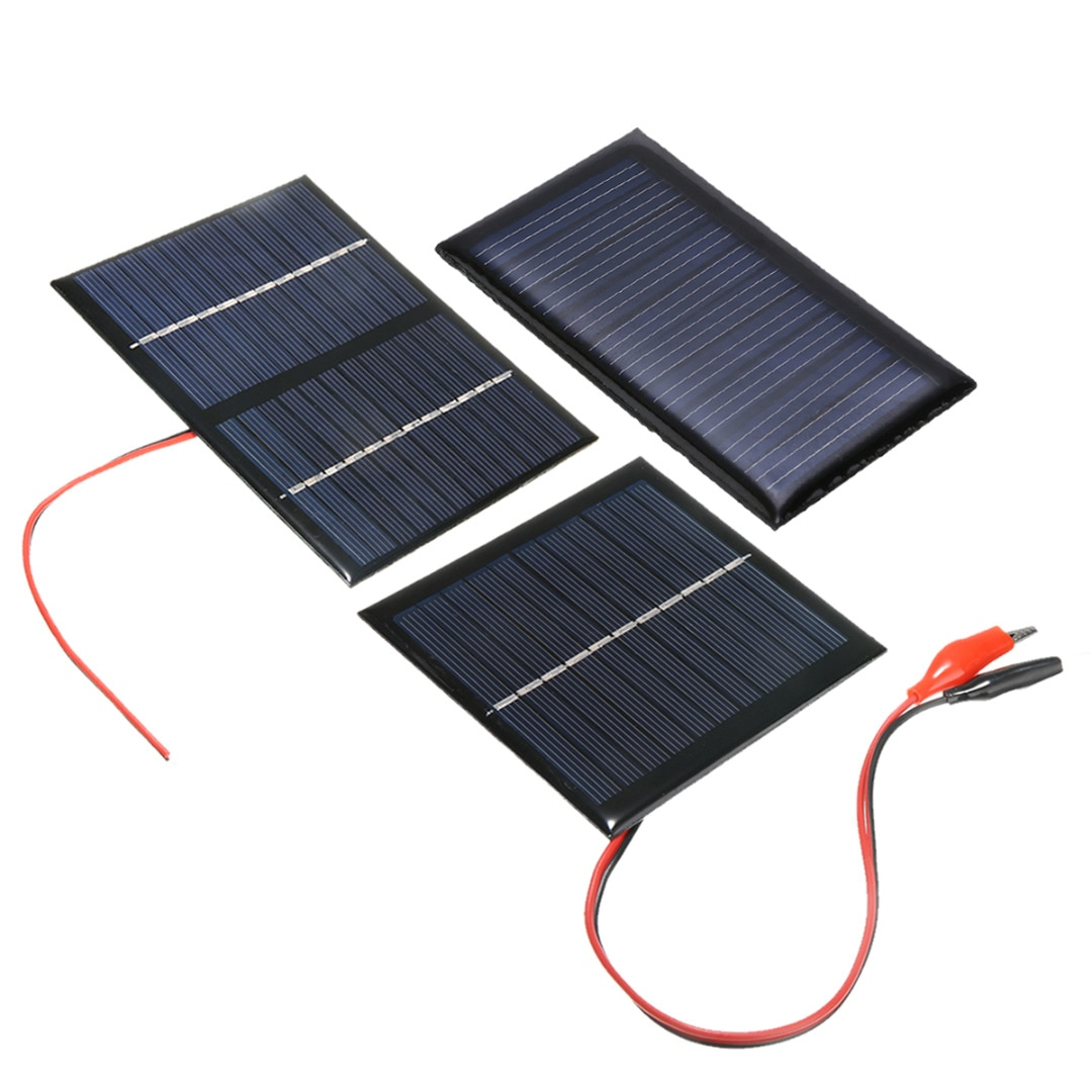 Mayitr Portable Cell Solar Panel System Light DIY Battery Cell Charger Electrical Solar Panel