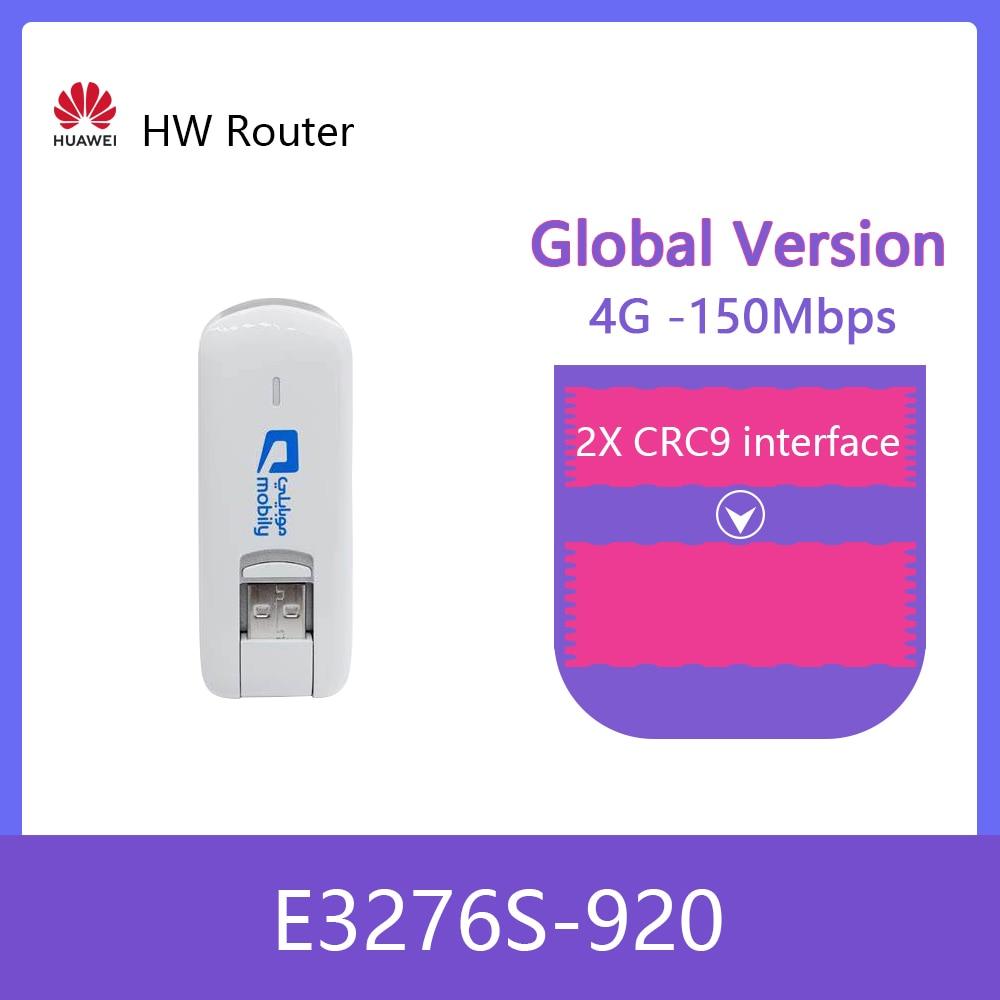 Entsperrt Huawei E3276s E3276S-920 4G LTE Modem 150Mbps WCDMA TDD 2300/2600MHZ Wireless USB Dongle + 2PSC ANTENNE
